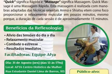 Oficina de Quick Massage